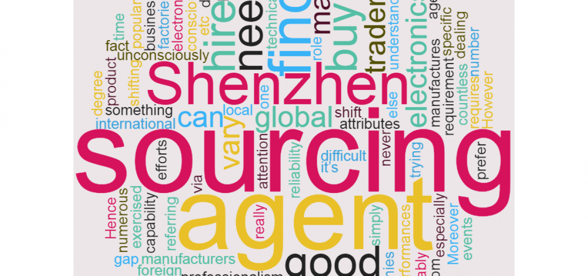 shenzhen sourcing agent china sourcing services