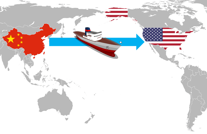 Shipping From China To Us Usa Freight Forwarder Air Sea 3