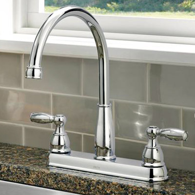 2-Handle Standard kitchen faucet