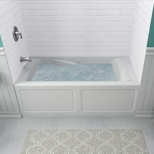 shower whirlpool bathtub
